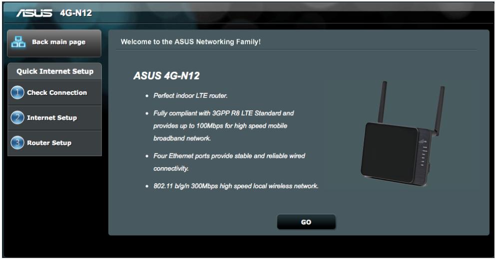 asus router login 3