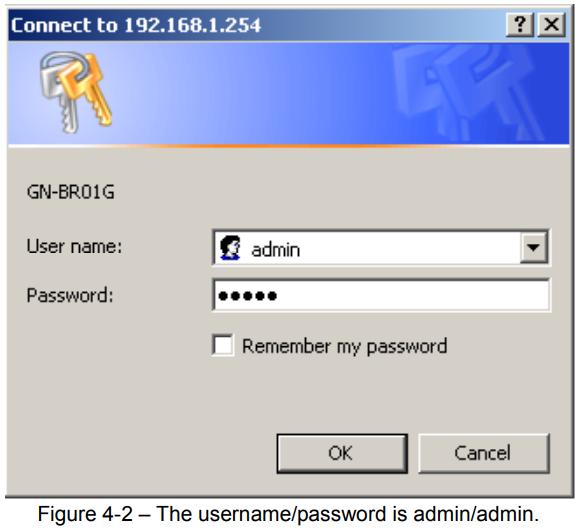 gigabyte router login 2
