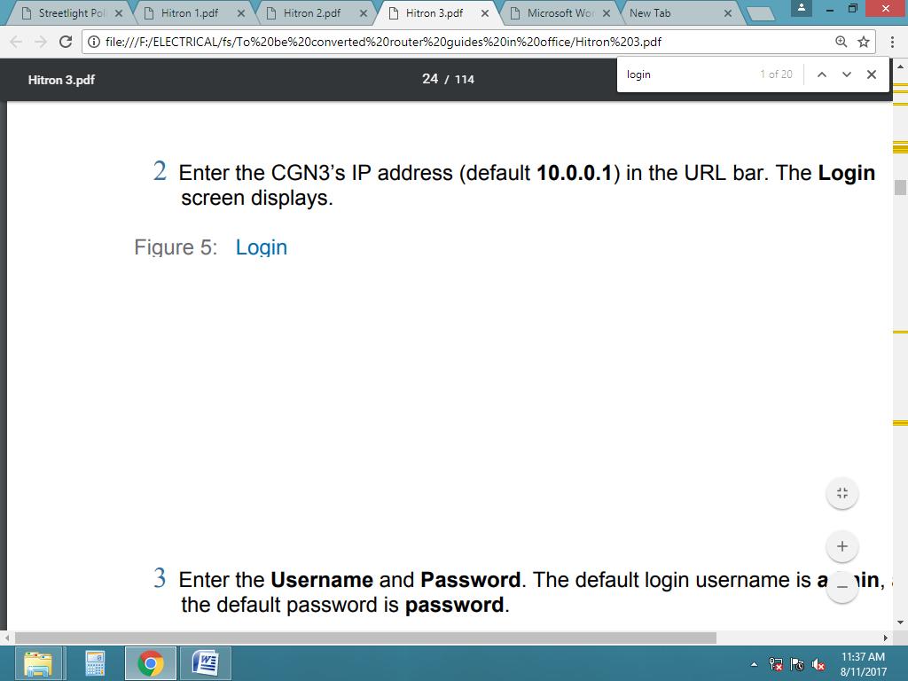 hitron router login 1