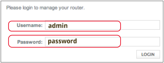 xfinity router login and password 1